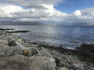 View from Sleat, Isle of Skye, Scotland, August 2018